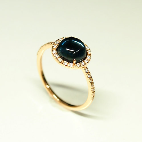 Candy Baby London Blue Topaz Ring
