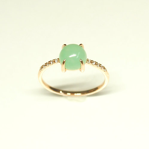 Candy Baby  Chrysophrase Ring