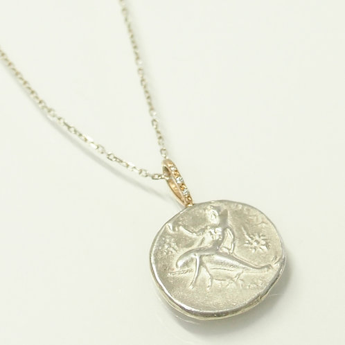 "Ancient Coin (Replica) Necklace ""Goddess Of The Sea"""