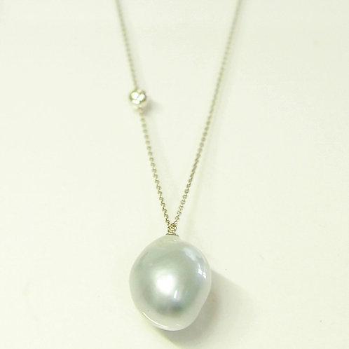 Baroque South sea Pearl Top necklace