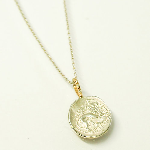 "Ancient Coin ( Replica) Necklace ""The Lion"""