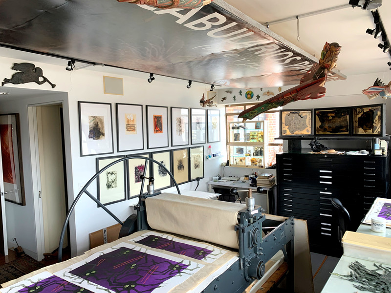 The print shop.
