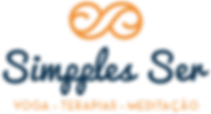 Simpples Ser - Logo laranja em positivo