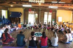 Encontro de Yoga no Monte Crista/SC