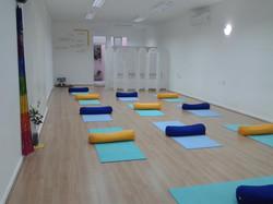 Sala pronta para a Pratica