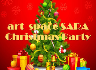 art space SARA Xmas パーティー開催🎉