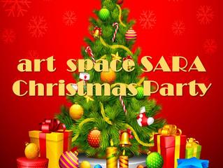 art space SARA Xmas パーティー開催🎉