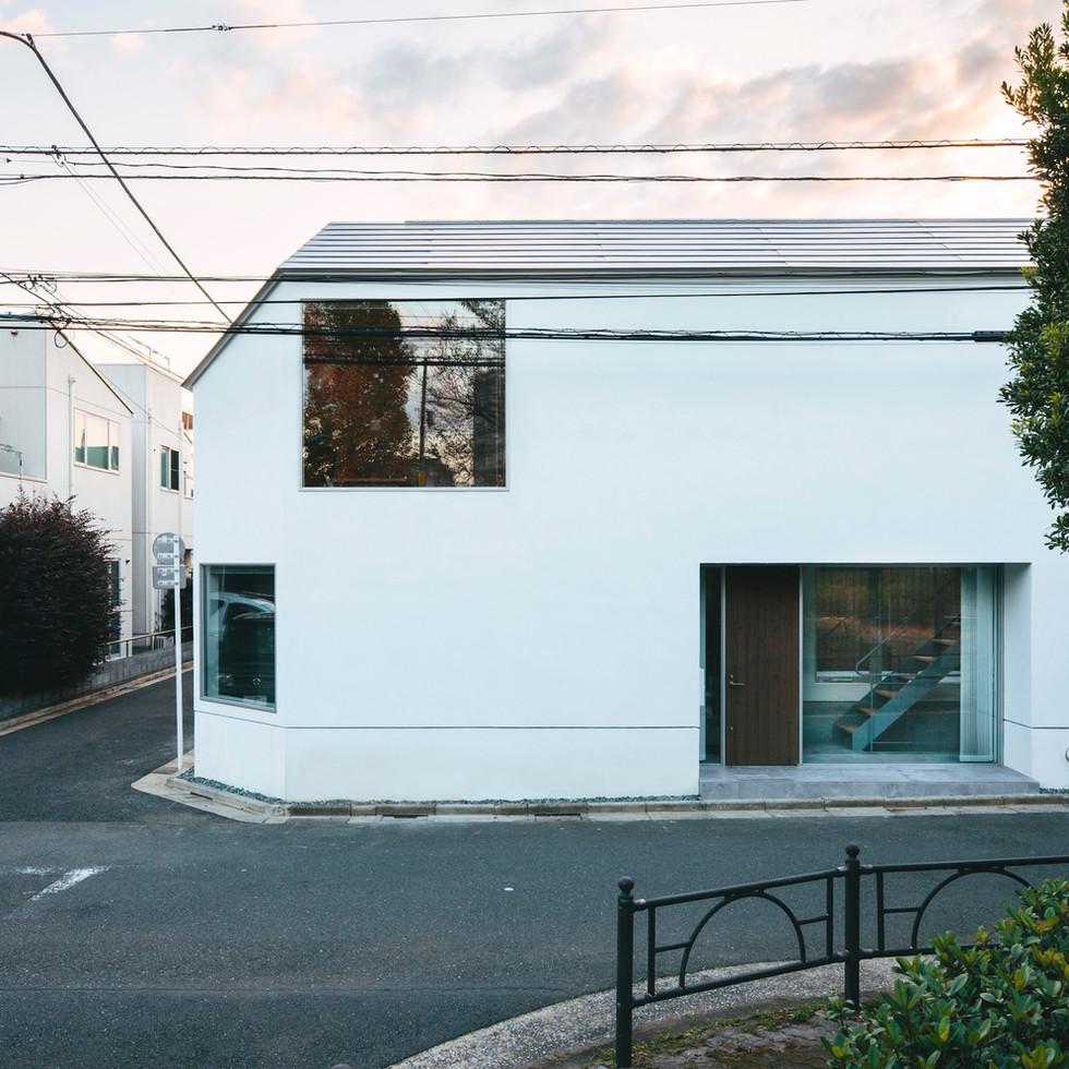 石神井公園の家
