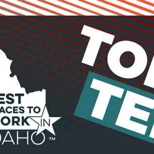 Ridgeline Insights Ranked #6 Among Idaho's Top 10 Places to Work