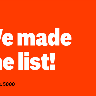 Five Years In a Row on the Inc 5000 List