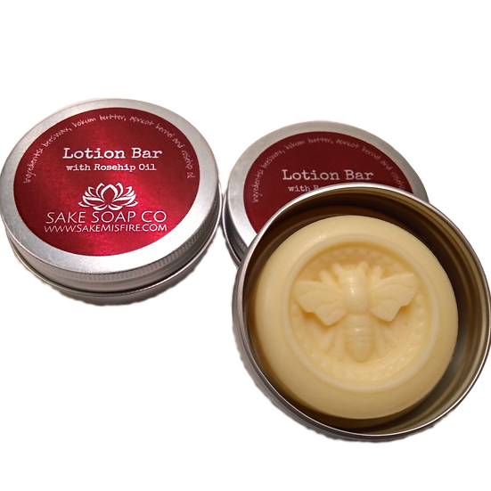 Lotion Bar with Rosehip Oil