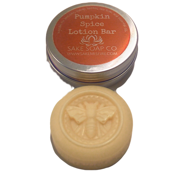 Pumpkin Spice Lotion Bar