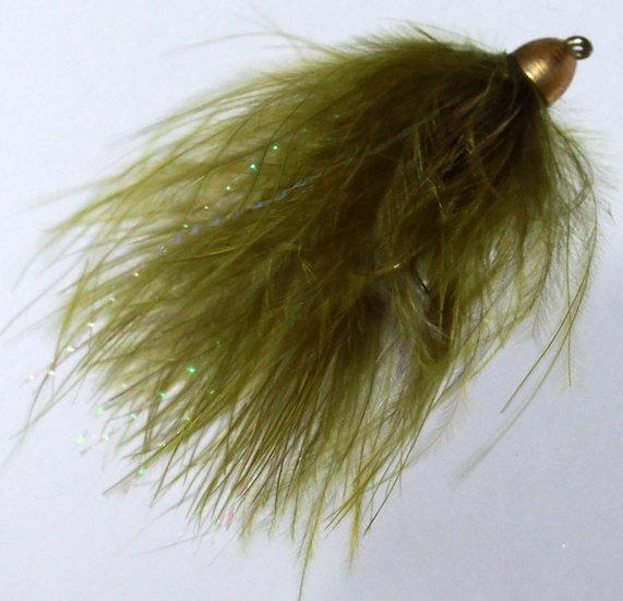 Wooly Bugger oliv