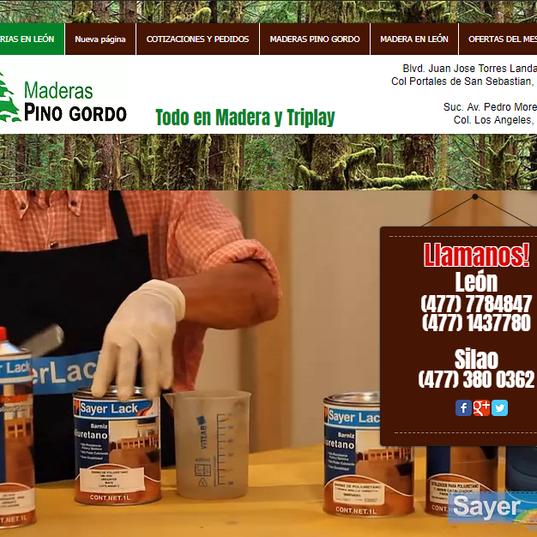 Maderas Pino Gordo