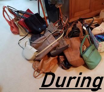 Bags During KonMari