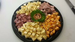 Cubed Meat & Cheese Tray