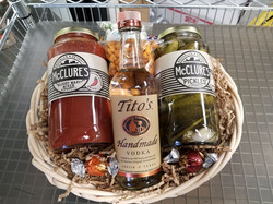 Custom made gift baskets.