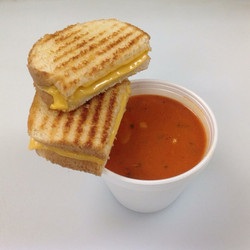 Grilled Cheese and Tomato Tortellini