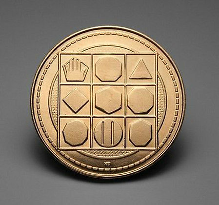 "Act Well Thy Part - Scottish ""Magic Square"" Coin"