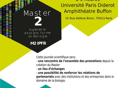 Le Master Ingénierie de Plate-forme en Biologie (IPFB) fête ses 10 ans