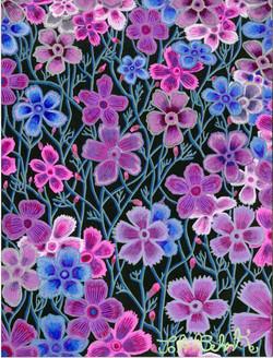 """""""Purple Flowers"""" by John Behnke"""