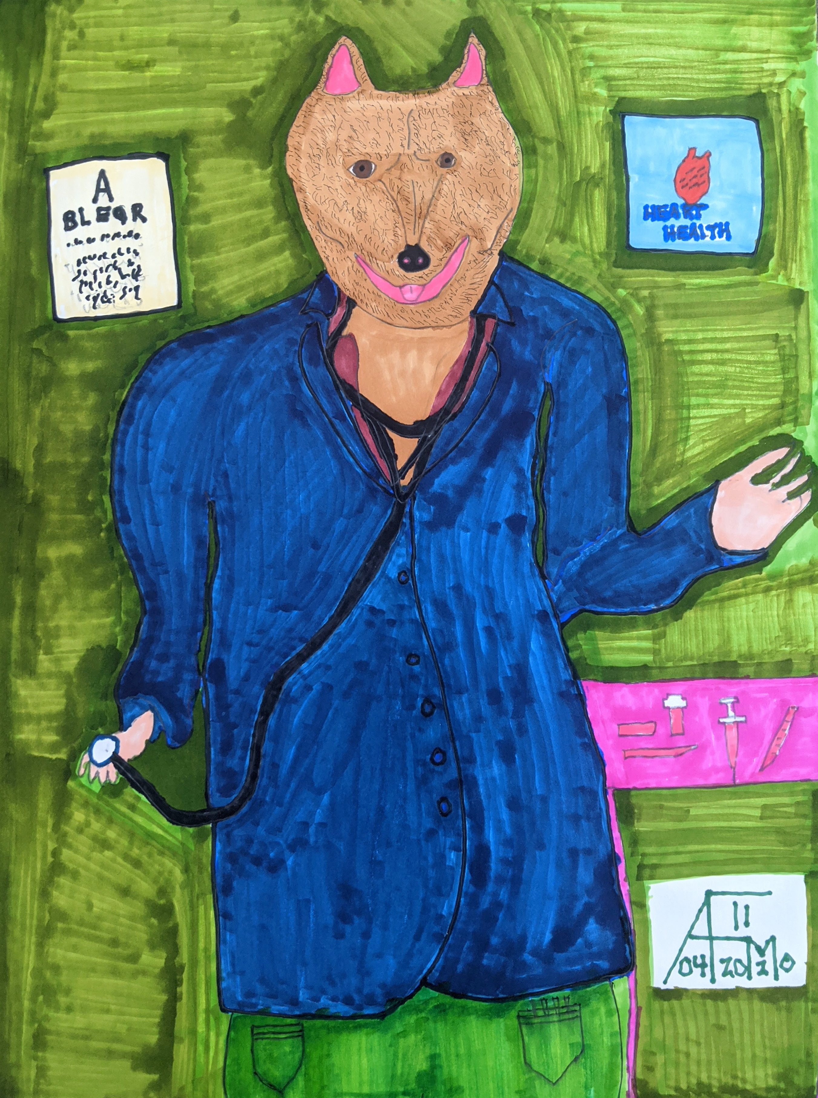 """""""Dr. Dog"""" by Allen McNair"""