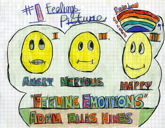 """""""#1 Feelings Picture"""" by Adam Hines"""