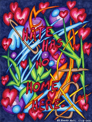 """Hate Has No Home Here 1"" by James Hall"
