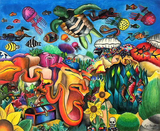 """Under the Sea"" by Dijon Barrett"