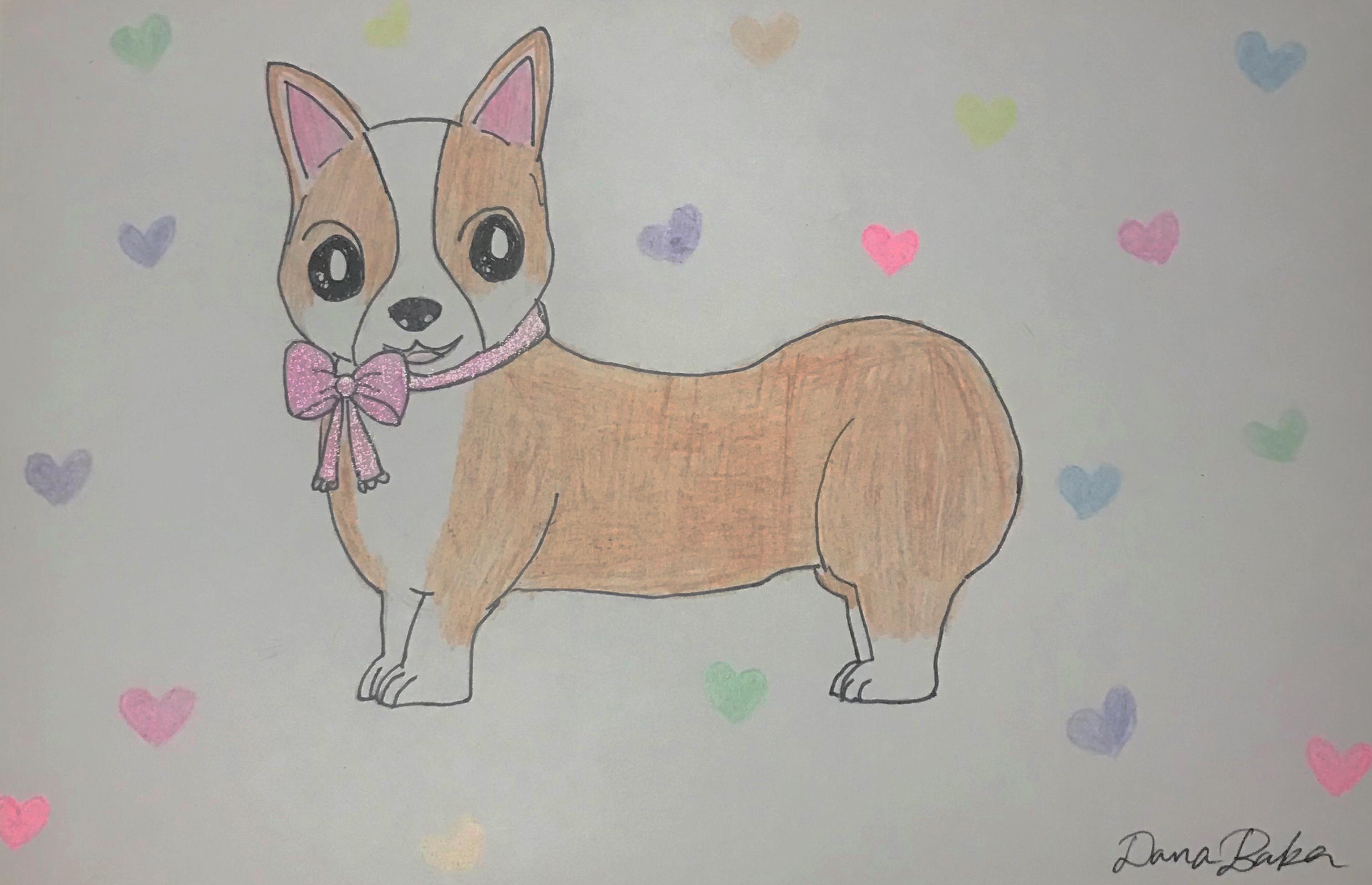 """""""Sweet Pup"""" by Dana Baker"""