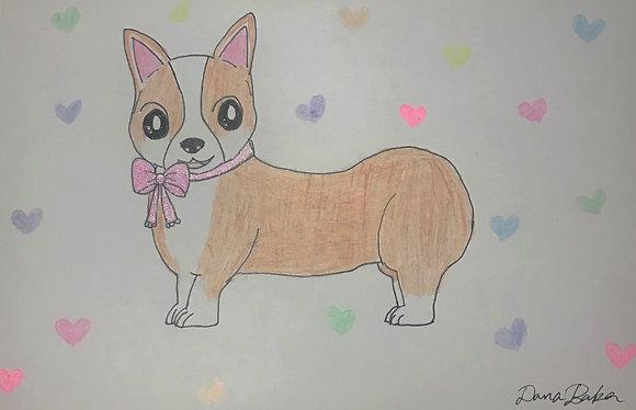 Sweet Pup by Dana Baker