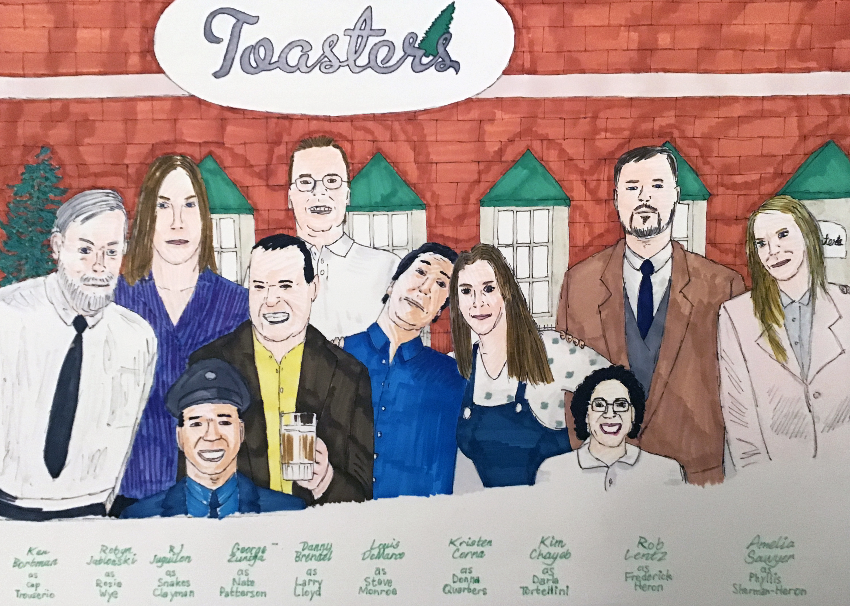Toasters LD 2020 full cast