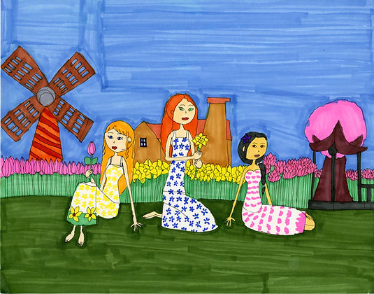 """Garden Girls"" by Stephon Doby"