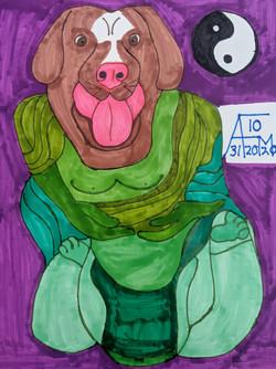"""Nirvana Dog"" by Allen McNair"
