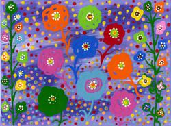 """""""Flower Power"""" by Sheila Smith"""