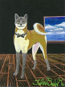 """Dapper Dog"" by John Behnke"