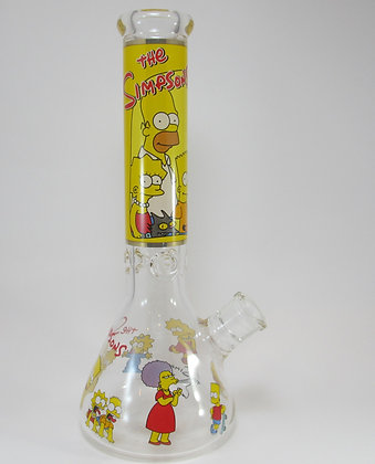 Simpsons Family Beaker Water Pipe