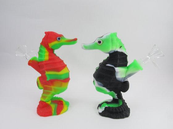 Silicone Seahorse Pipe
