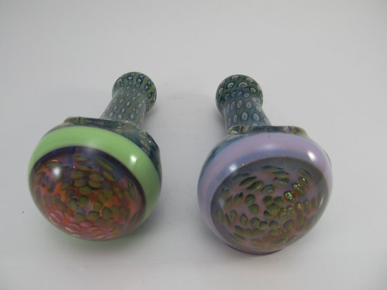 Large Bowl Trippy Hand Pipe