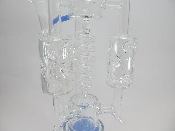 Water Pipe w/ Corkscrew Perc