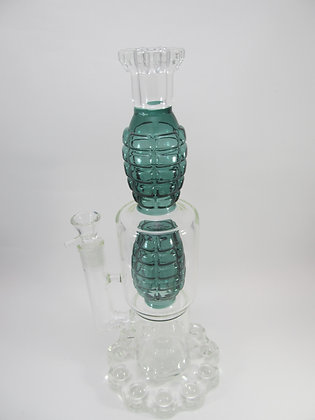Double Grenade Water Pipe