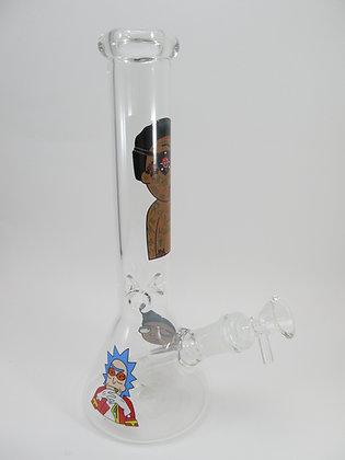 Evil Morty Beaker Pipe