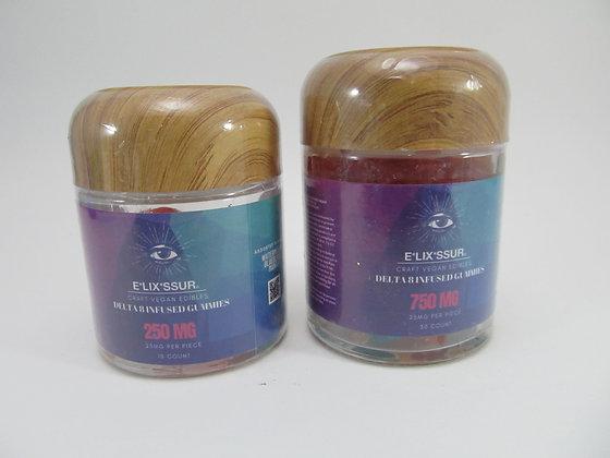 Delta 8 Gummies Elixxsur $13 and $20