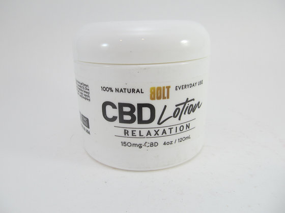 CBD Relaxation Lotion Bolt