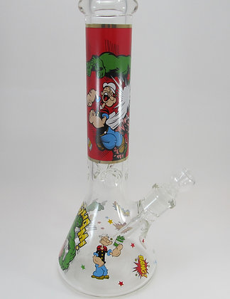 Hulk Beaker Water Pipe