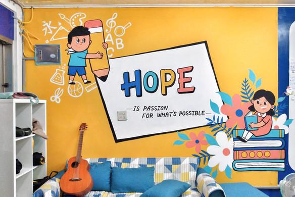 壁畫彩繪|教室