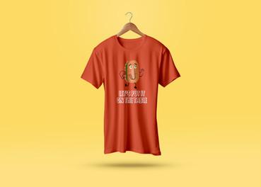 T-shirt設計|畢業專題