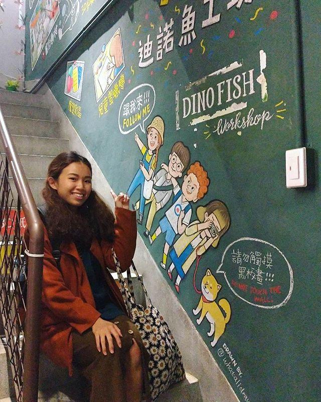 黑板壁畫|審計新村