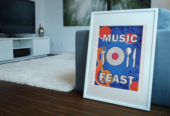 海報設計|響宴 Music Feast