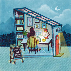 我的理想工作室 My Dream Studio💛 - 熱茶、音樂通常就能帶給我
